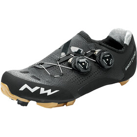 Northwave Ghost XCM 2 Schoenen Heren, black/honey